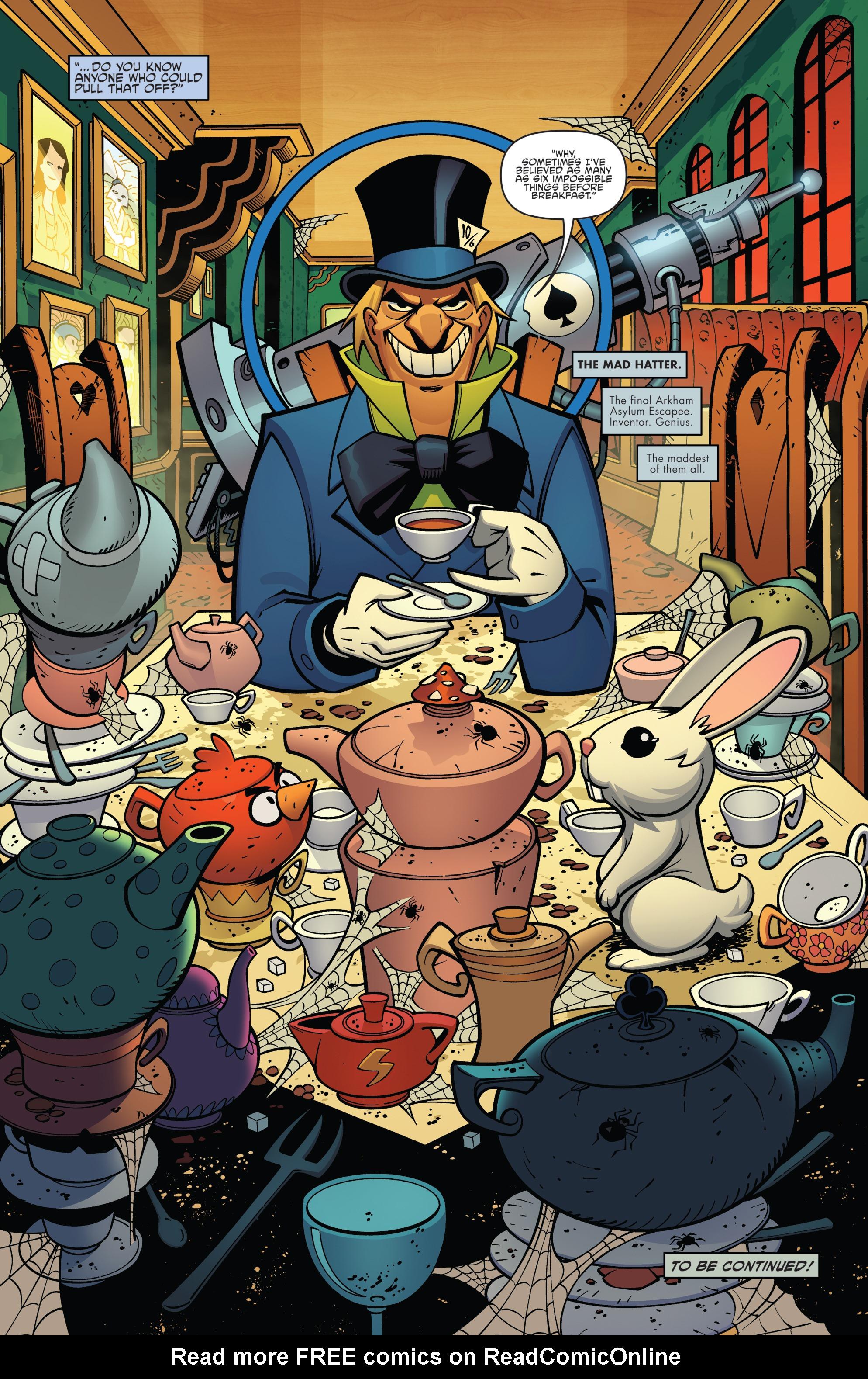 Read online Batman/Teenage Mutant Ninja Turtles Adventure comic -  Issue #4 - 22