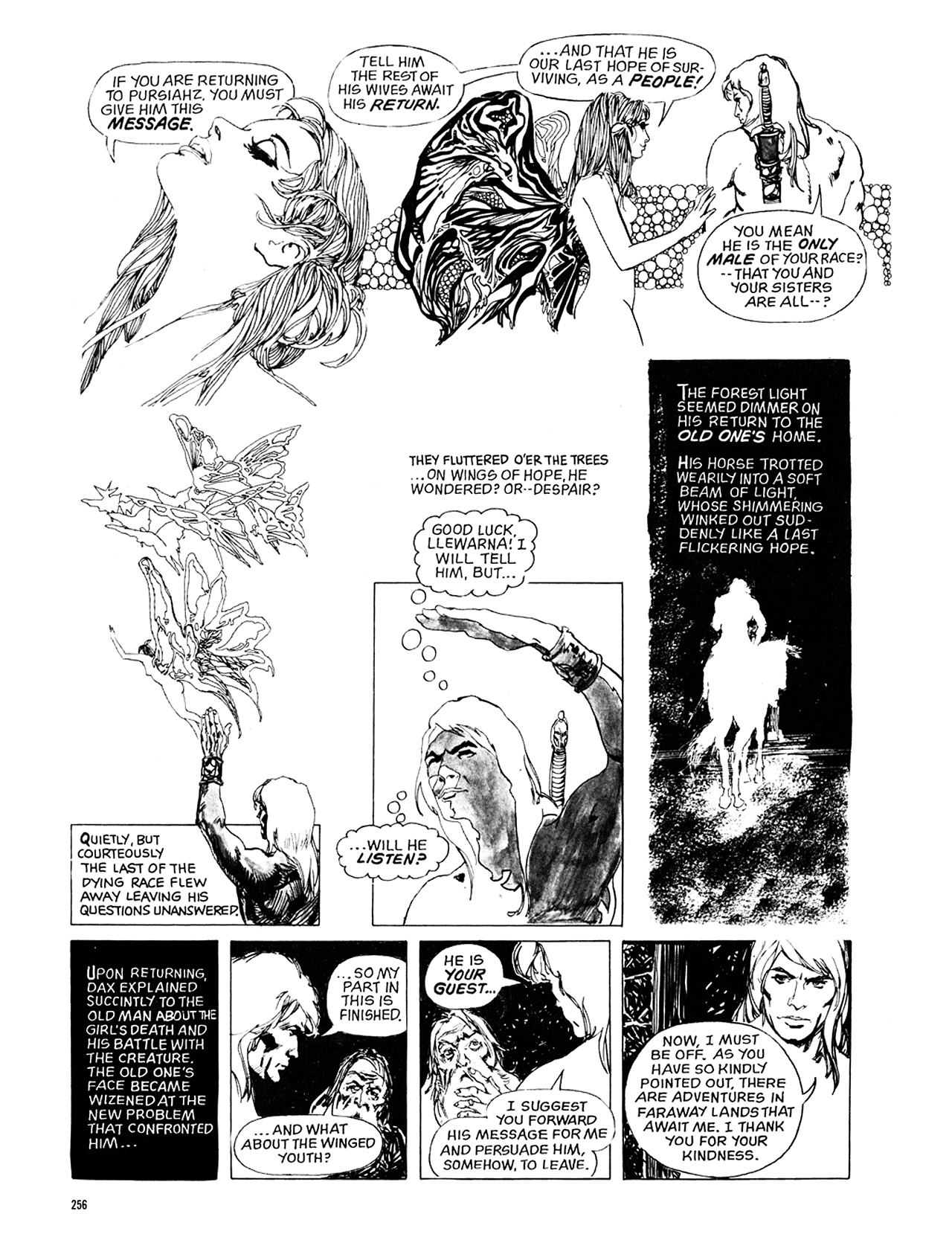 Read online Eerie Archives comic -  Issue # TPB 10 - 257
