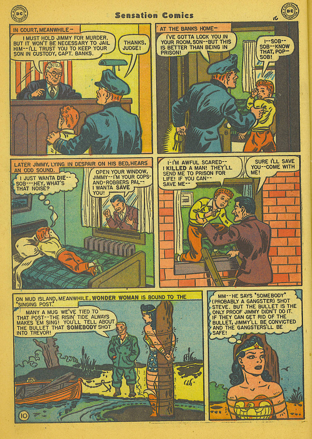 Read online Sensation (Mystery) Comics comic -  Issue #66 - 12