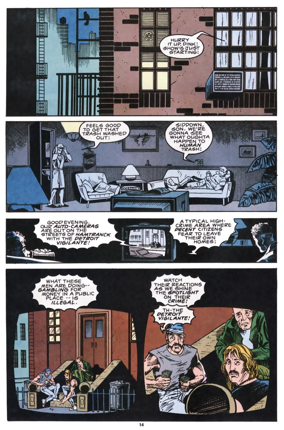 Read online Robocop (1990) comic -  Issue #9 - 12