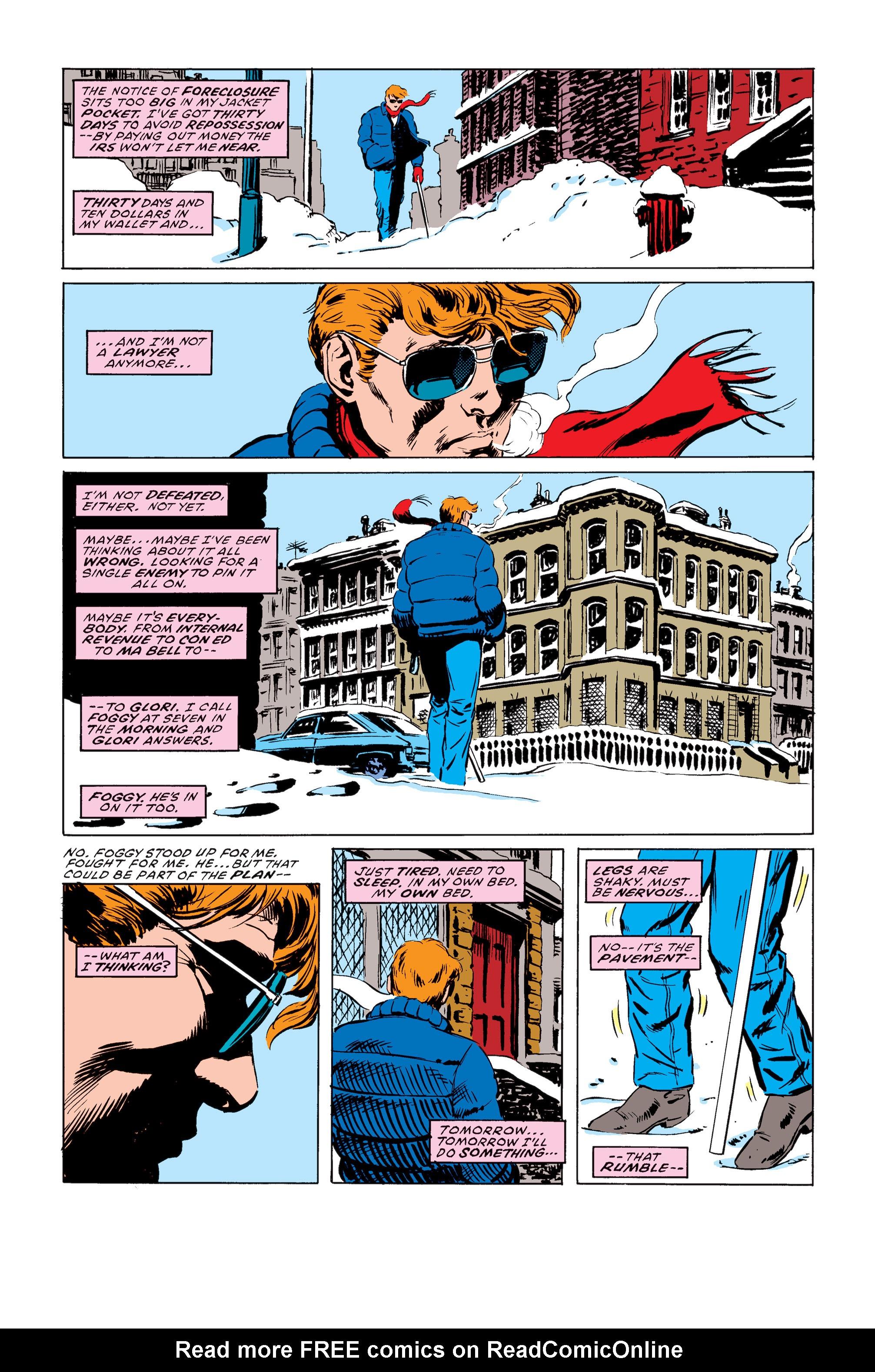 Read online Daredevil: Born Again comic -  Issue # Full - 50