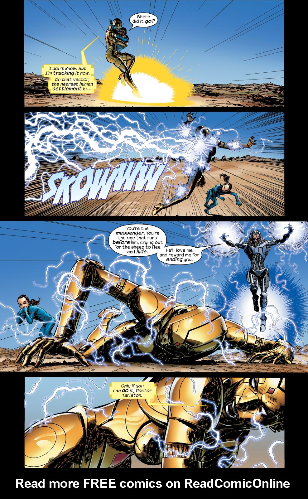Read online Ultimate Vision comic -  Issue #4 - 12