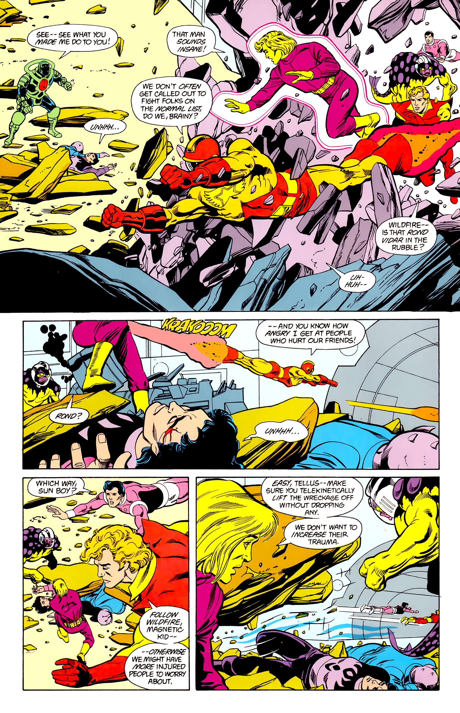 Legion of Super-Heroes (1984) 22 Page 9