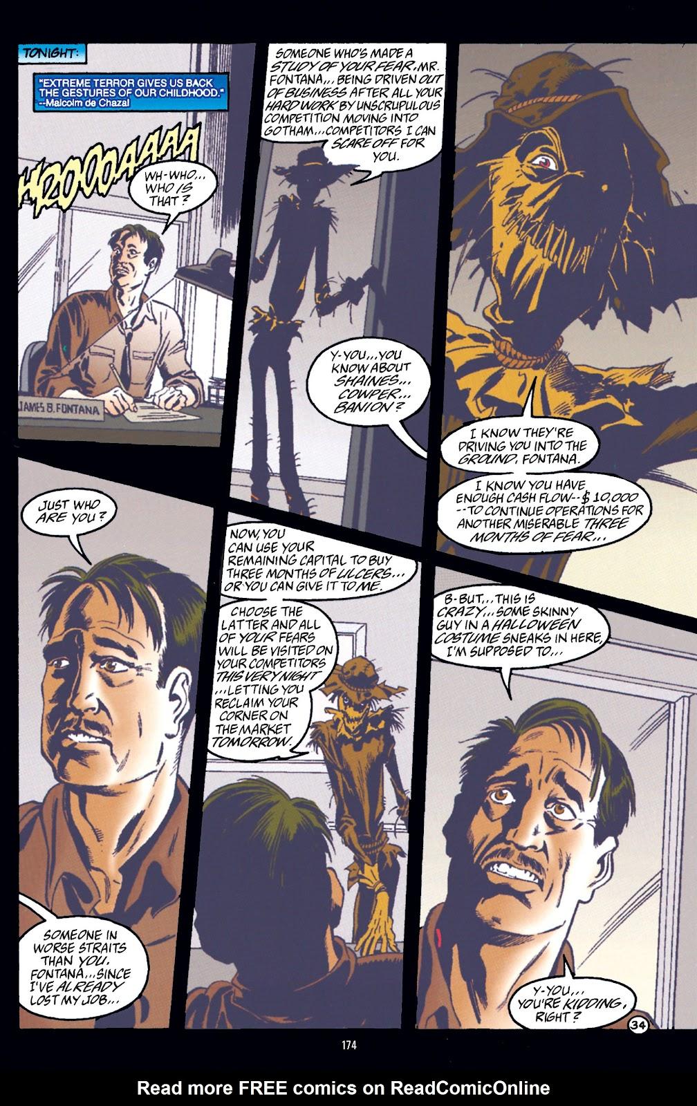 Read online Batman Arkham: Scarecrow comic -  Issue # TPB (Part 2) - 74