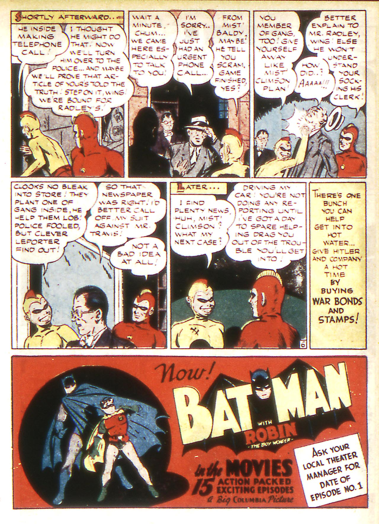 Read online Detective Comics (1937) comic -  Issue #81 - 31