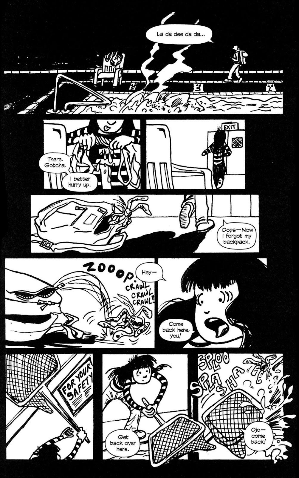Read online Ojo comic -  Issue #4 - 10