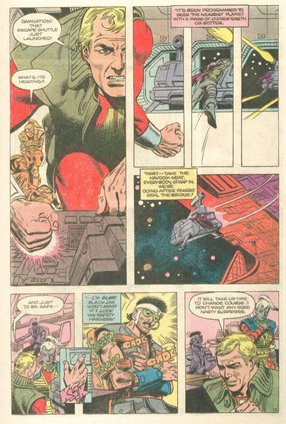 Read online Atari Force (1984) comic -  Issue #14 - 14