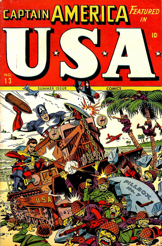 USA Comics 13 Page 1