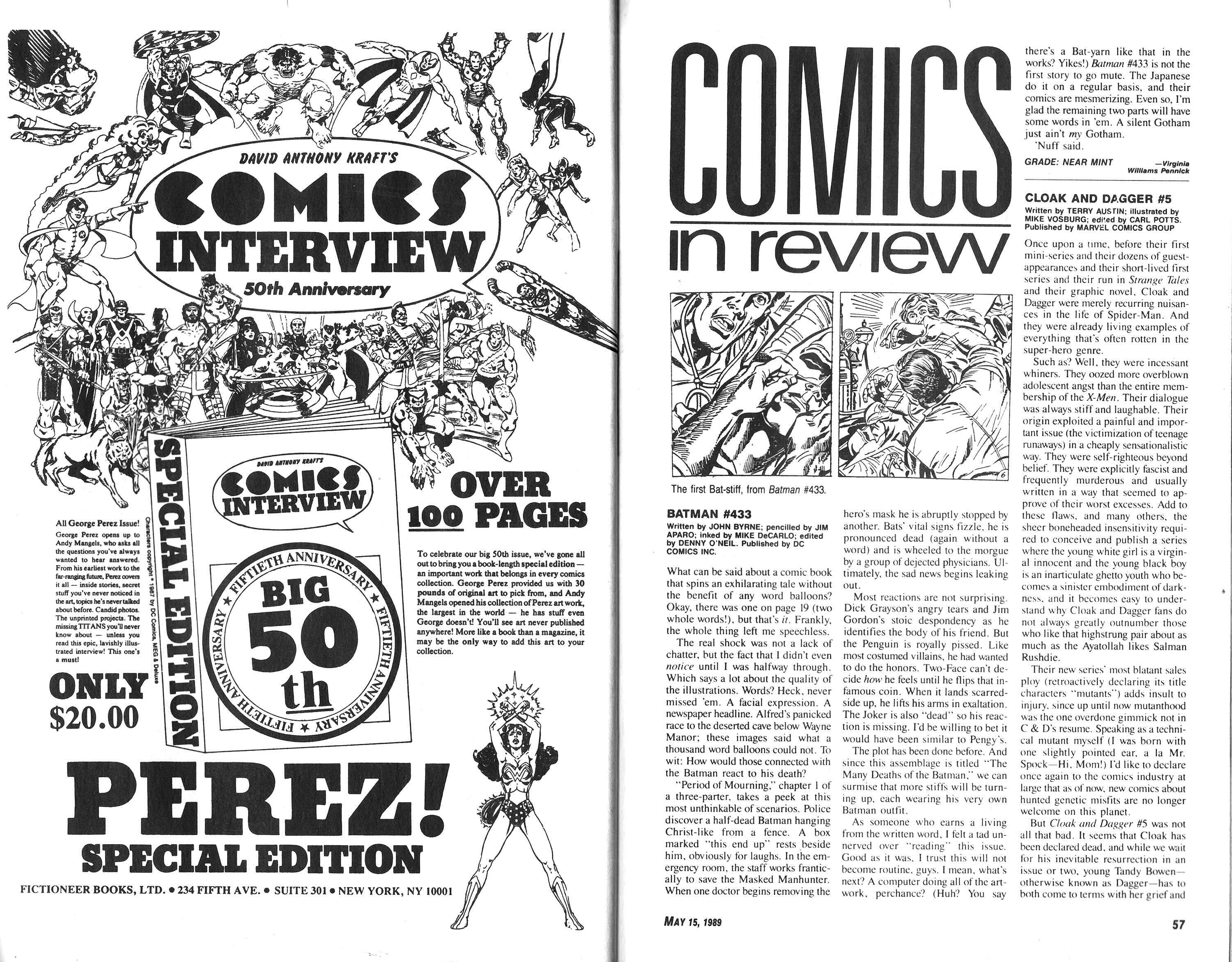 Read online Amazing Heroes comic -  Issue #165 - 29