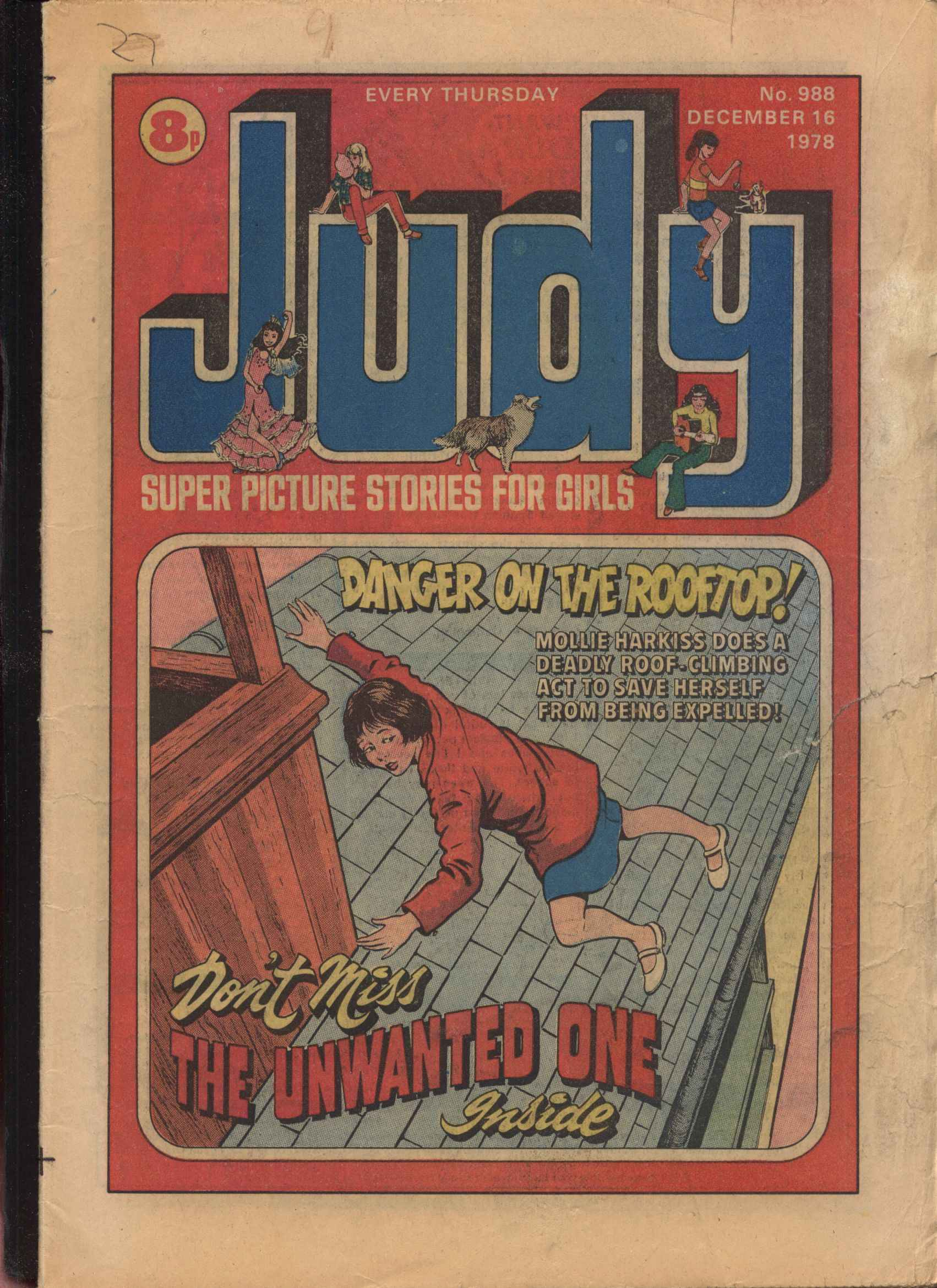 Read online Judy comic -  Issue #988 - 1