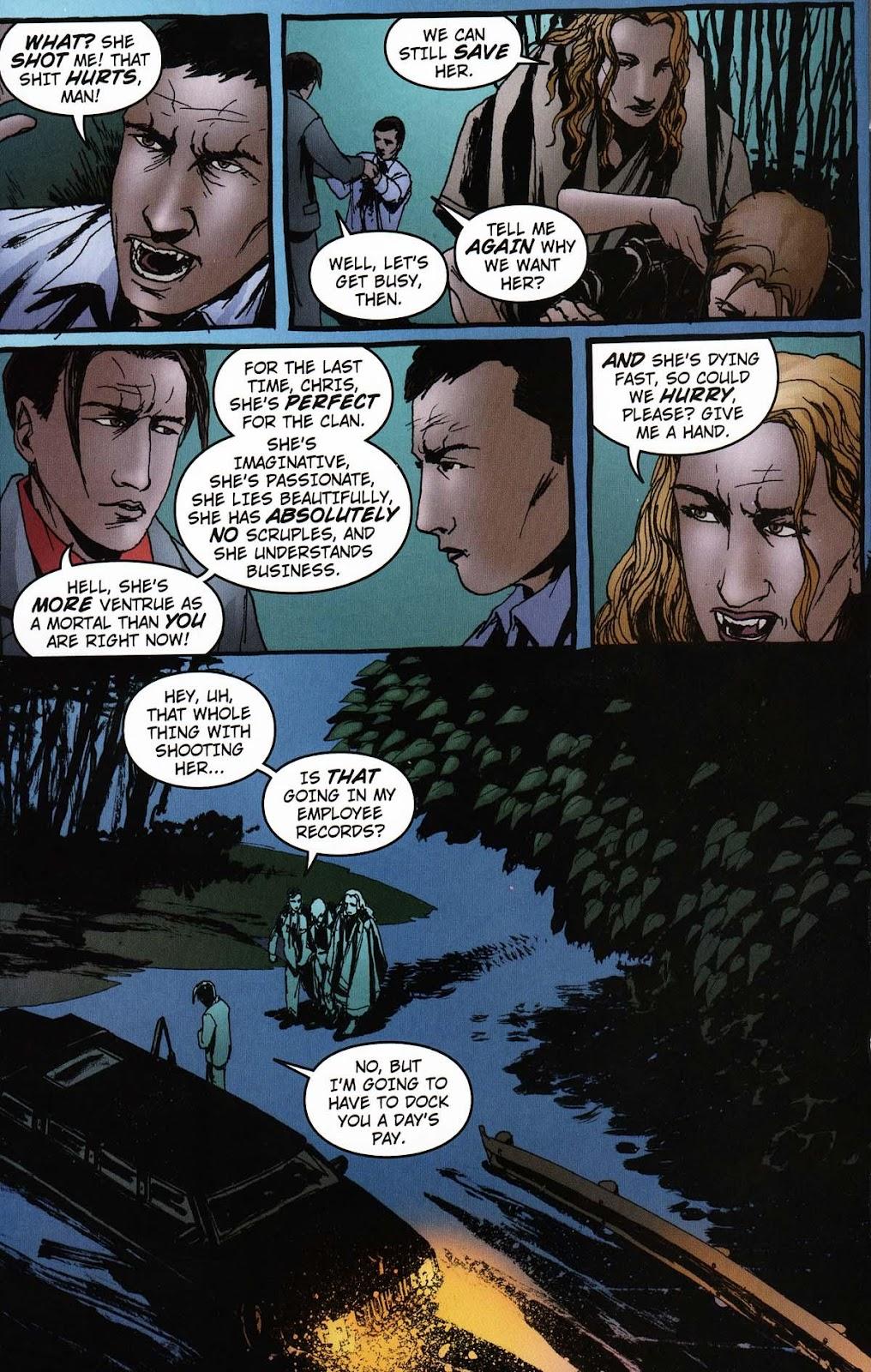 Read online Vampire the Masquerade comic -  Issue # Ventrue - 50