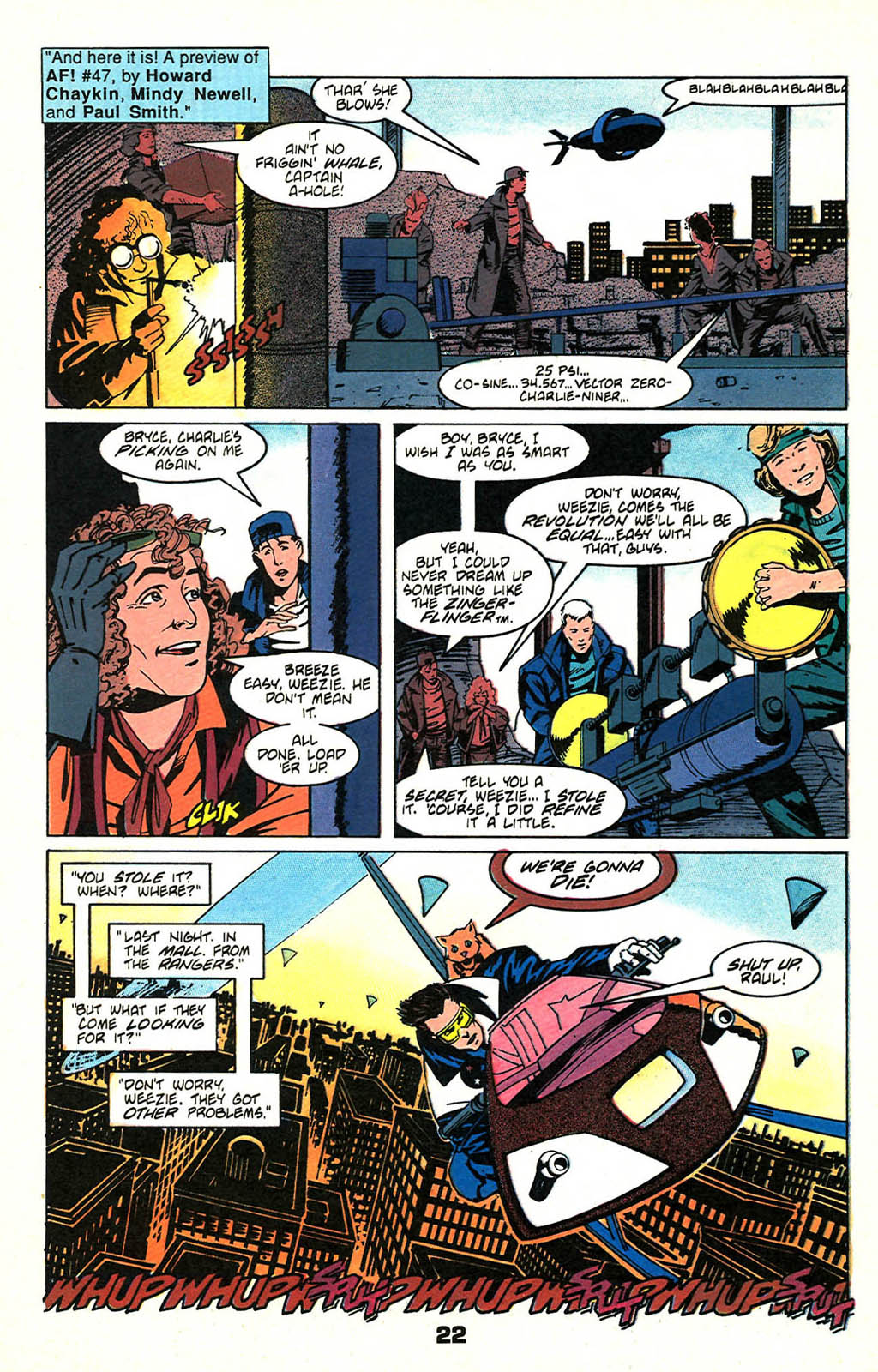 Read online American Flagg! comic -  Issue #46 - 28