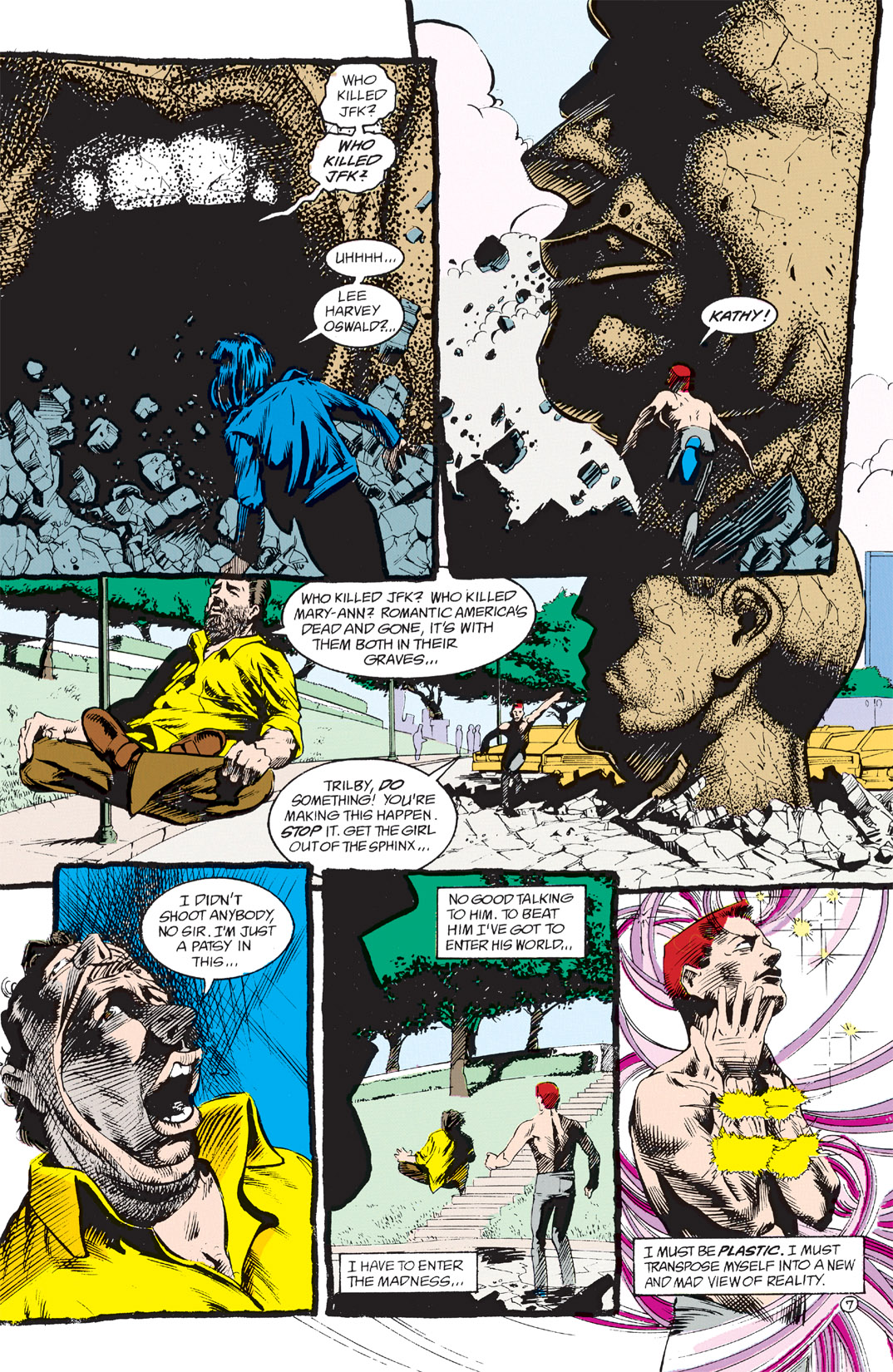 Read online Shade, the Changing Man comic -  Issue #3 - 9