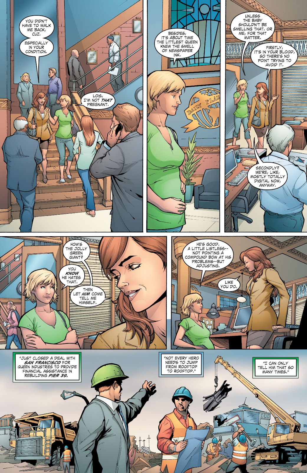 Read online Smallville Season 11 [II] comic -  Issue # TPB 6 - 69
