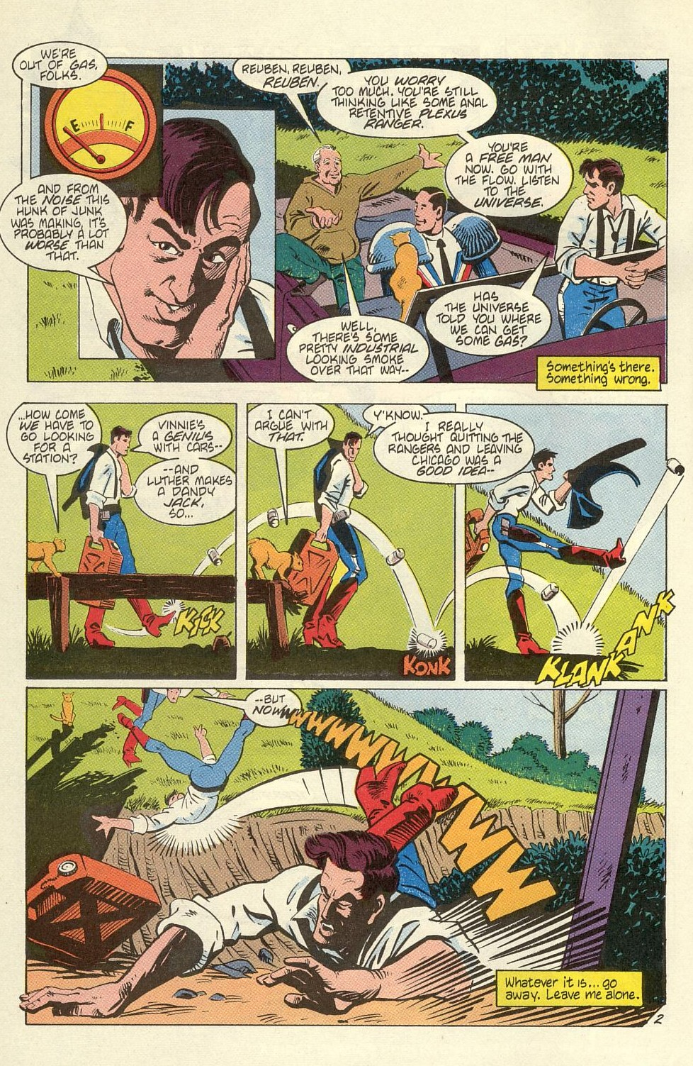 Read online American Flagg! comic -  Issue #40 - 4