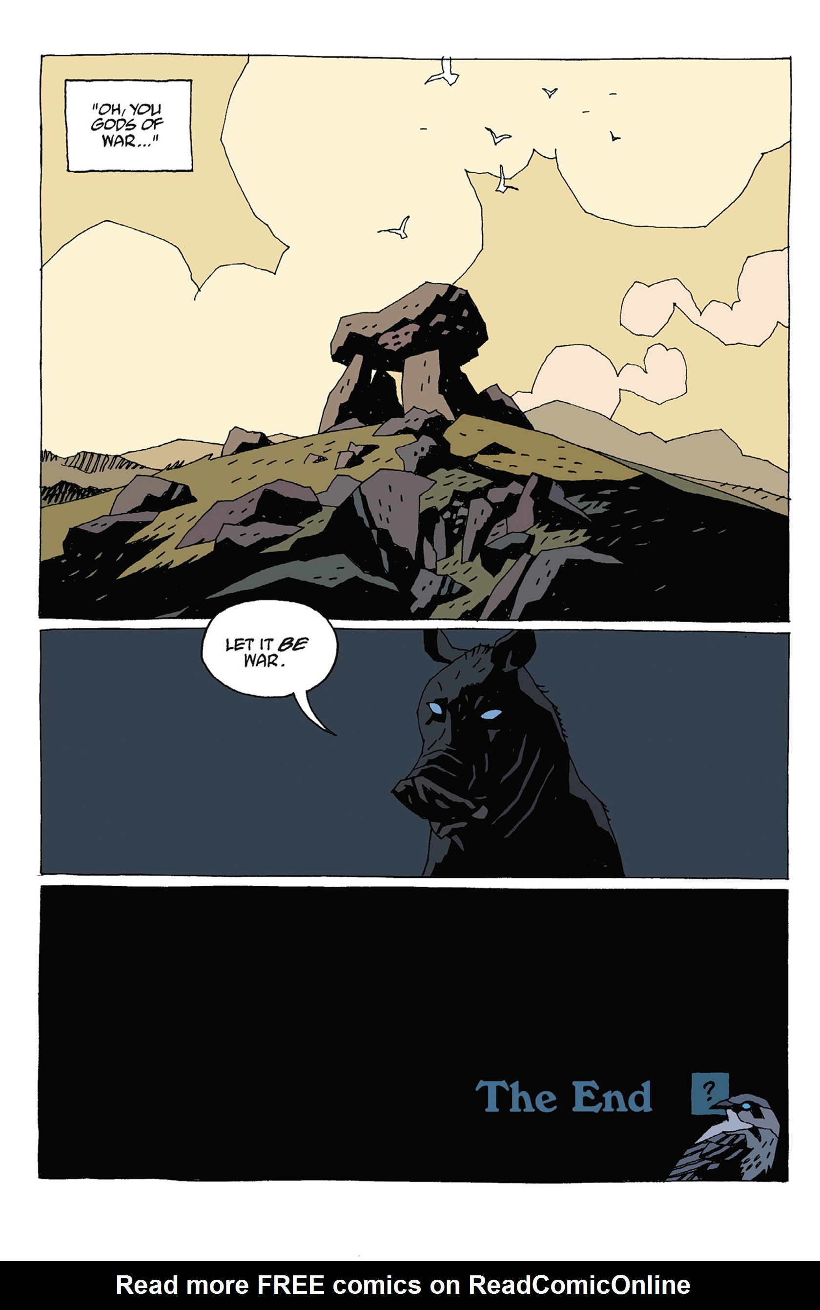 Read online Hellboy: Strange Places comic -  Issue # TPB - 132