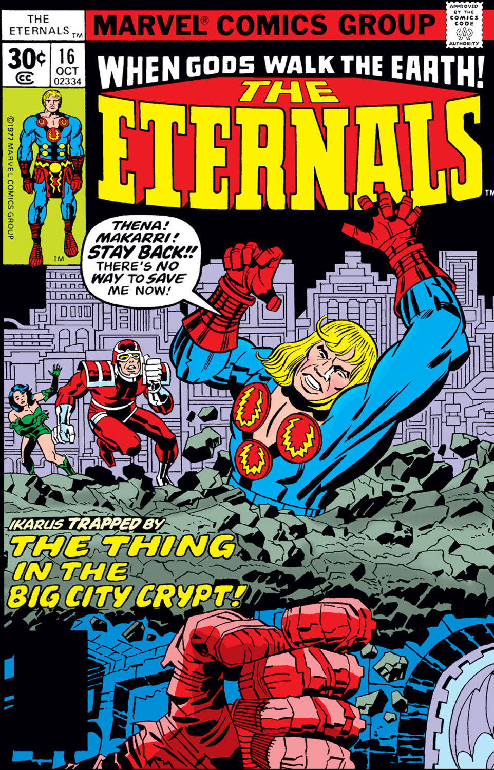 The Eternals issue 16 - Page 1