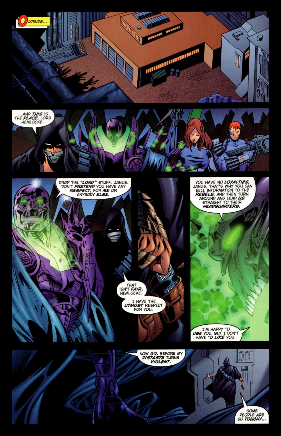 Read online C-23 comic -  Issue #3 - 16
