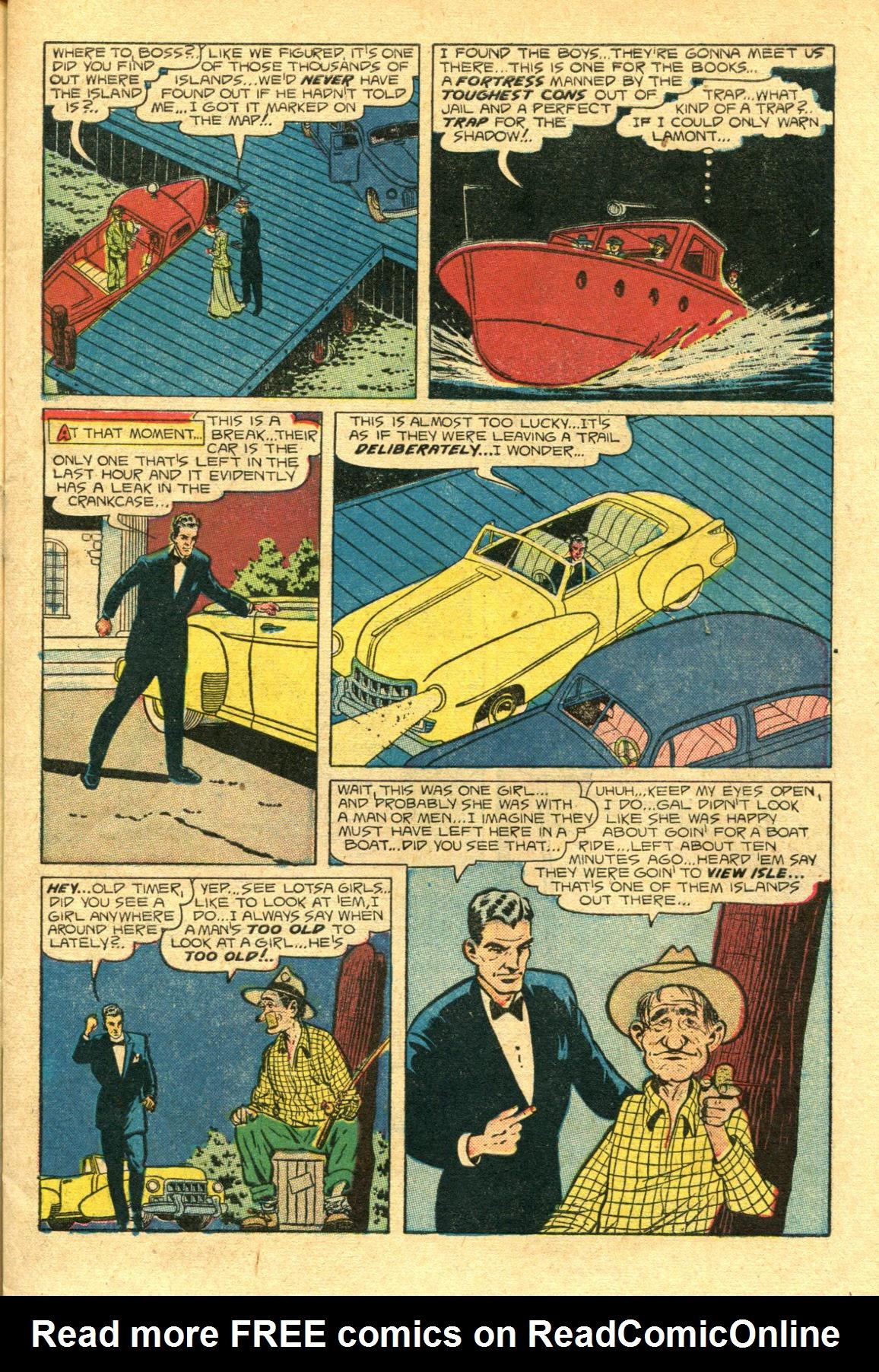 Read online Shadow Comics comic -  Issue #98 - 7