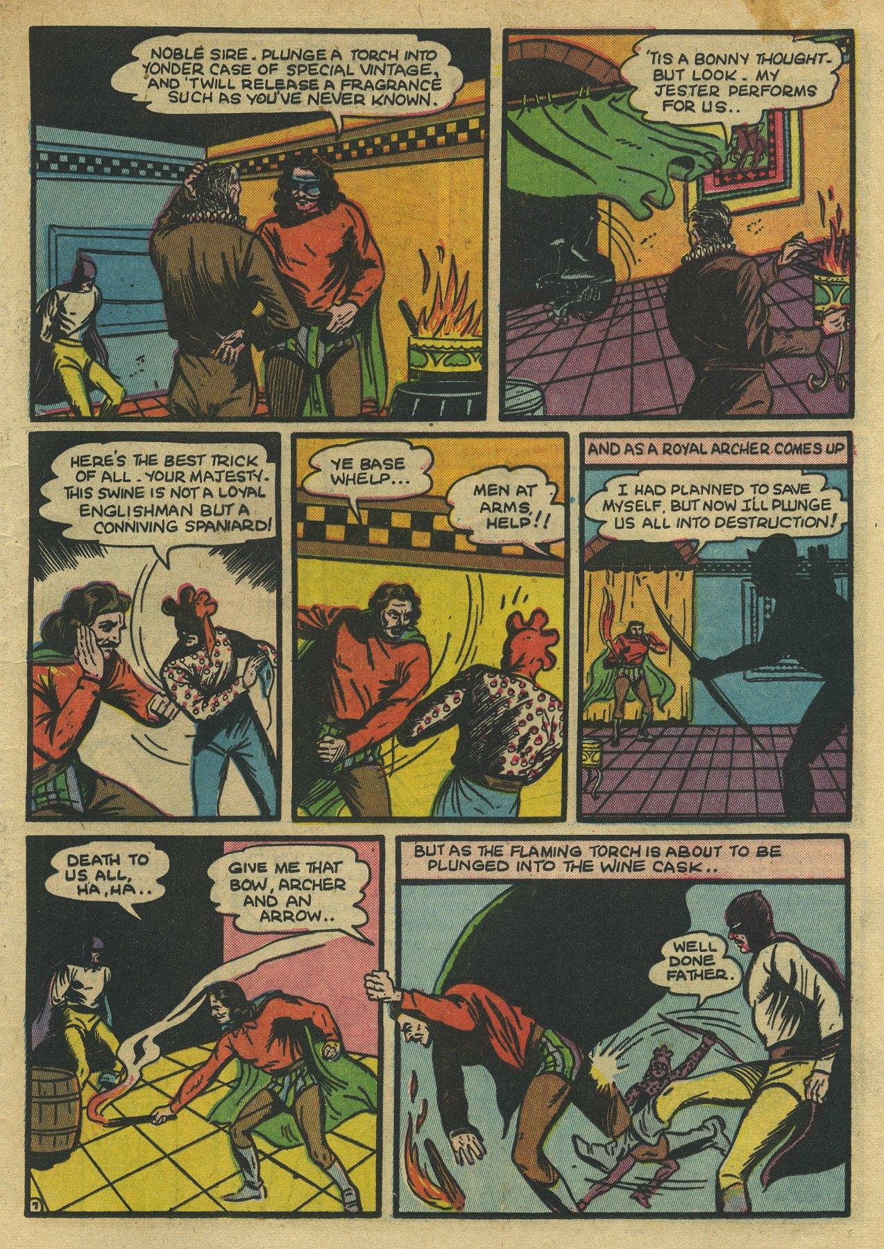 Read online Sensation (Mystery) Comics comic -  Issue #10 - 23