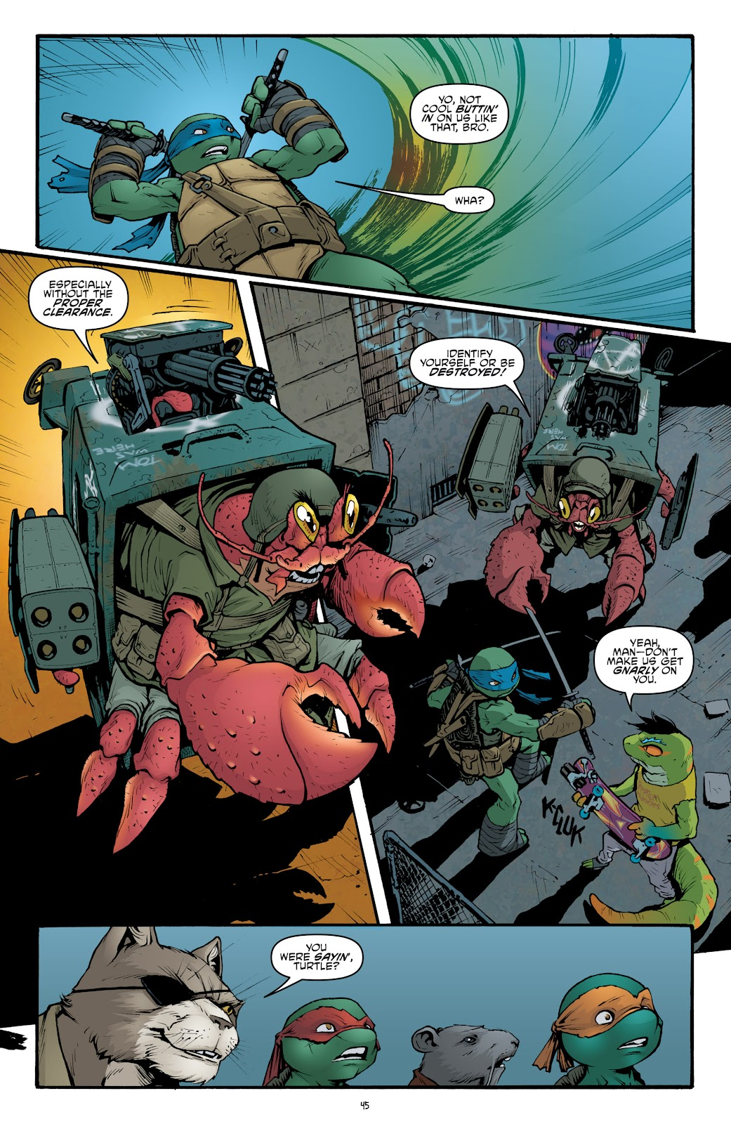 Read online Teenage Mutant Ninja Turtles: The IDW Collection comic -  Issue # TPB 5 (Part 2) - 21