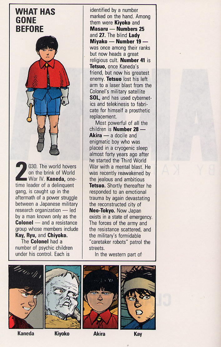 Read online Akira comic -  Issue #32 - 5
