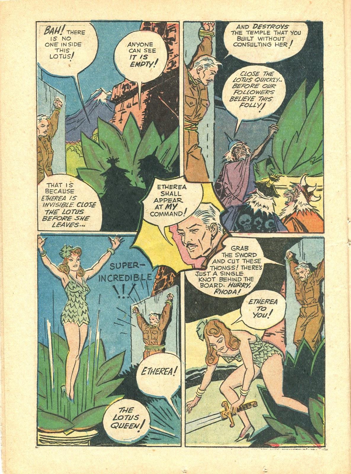 Read online Super-Magician Comics comic -  Issue #21 - 24