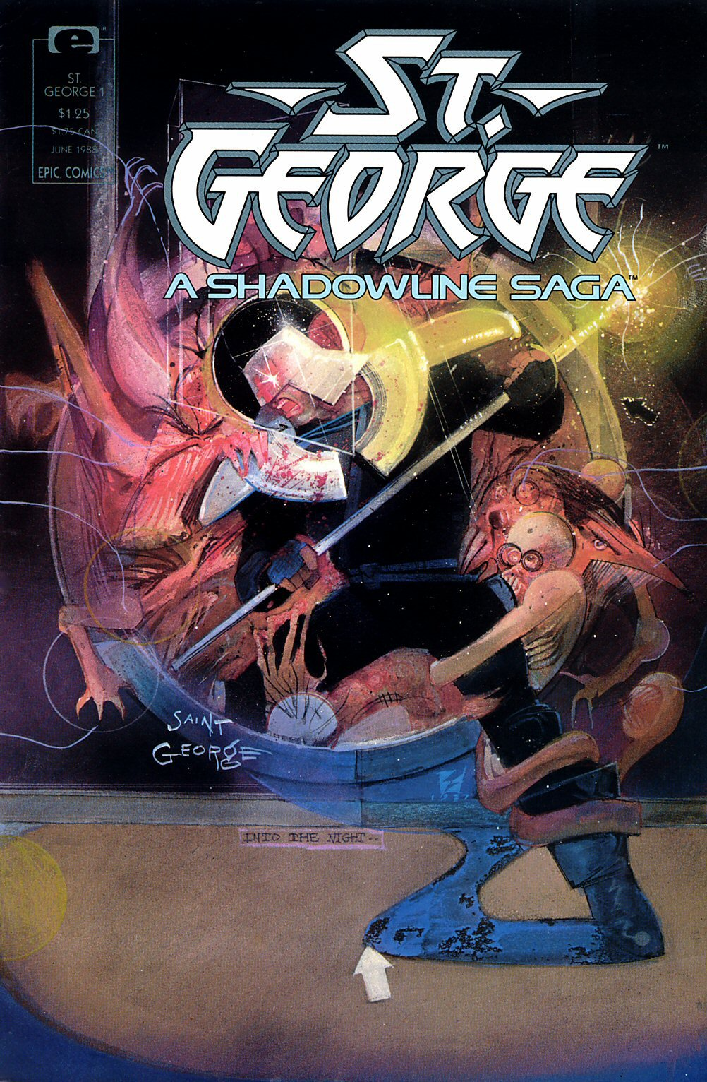Read online St. George comic -  Issue #1 - 1