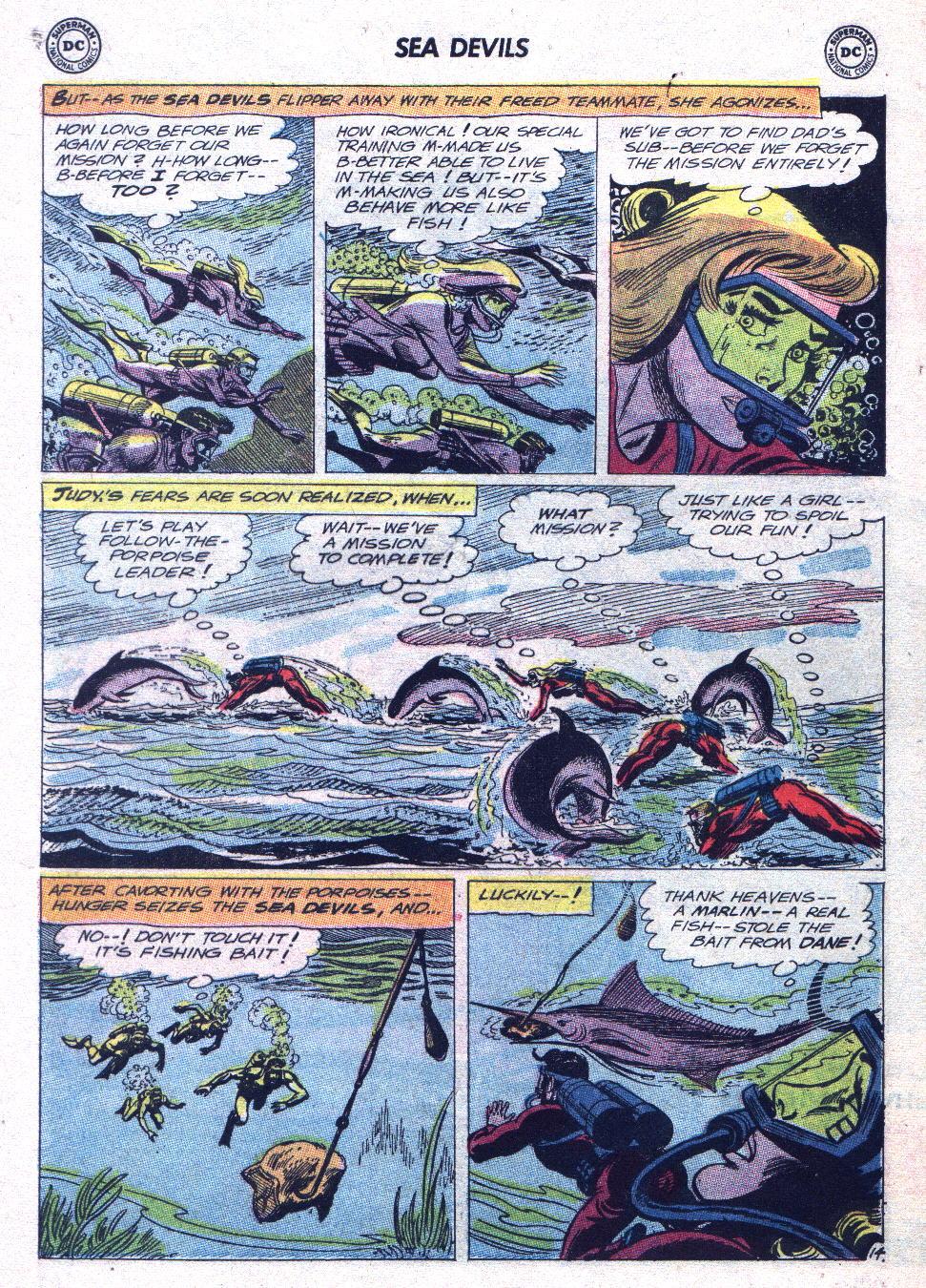 Read online Sea Devils comic -  Issue #15 - 19