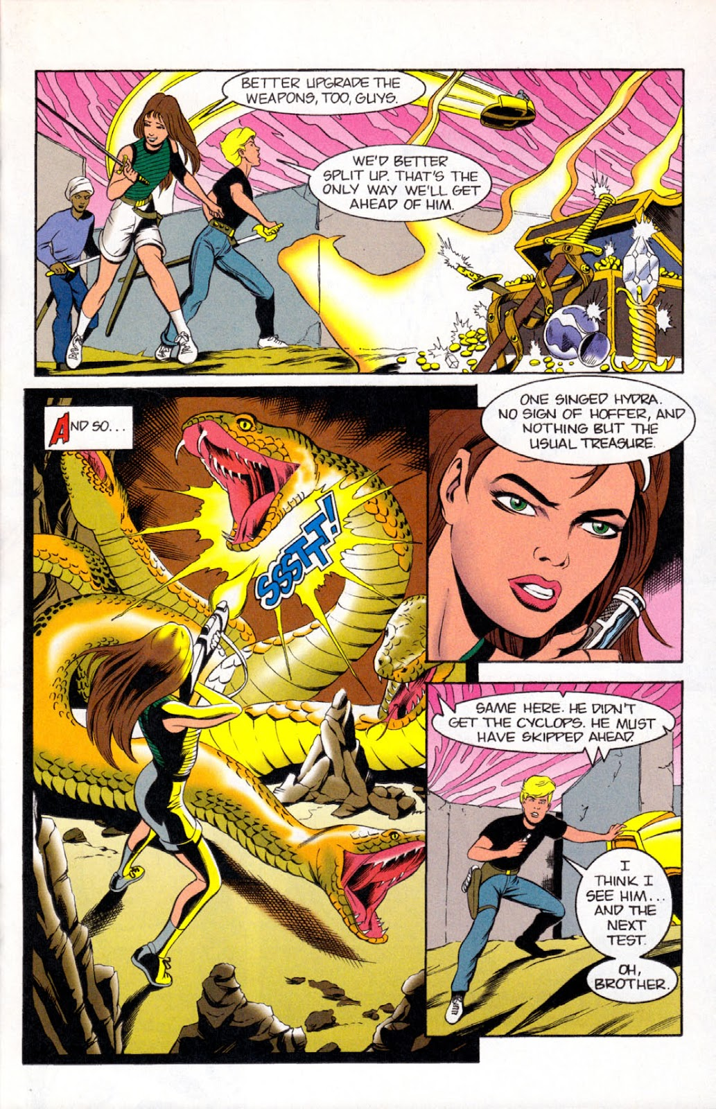 Read online The Real Adventures of Jonny Quest comic -  Issue #8 - 23