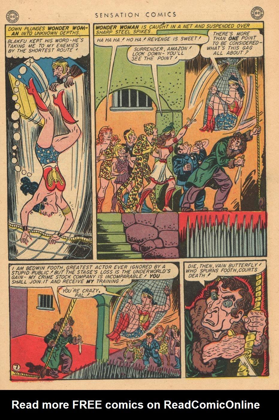Read online Sensation (Mystery) Comics comic -  Issue #36 - 9