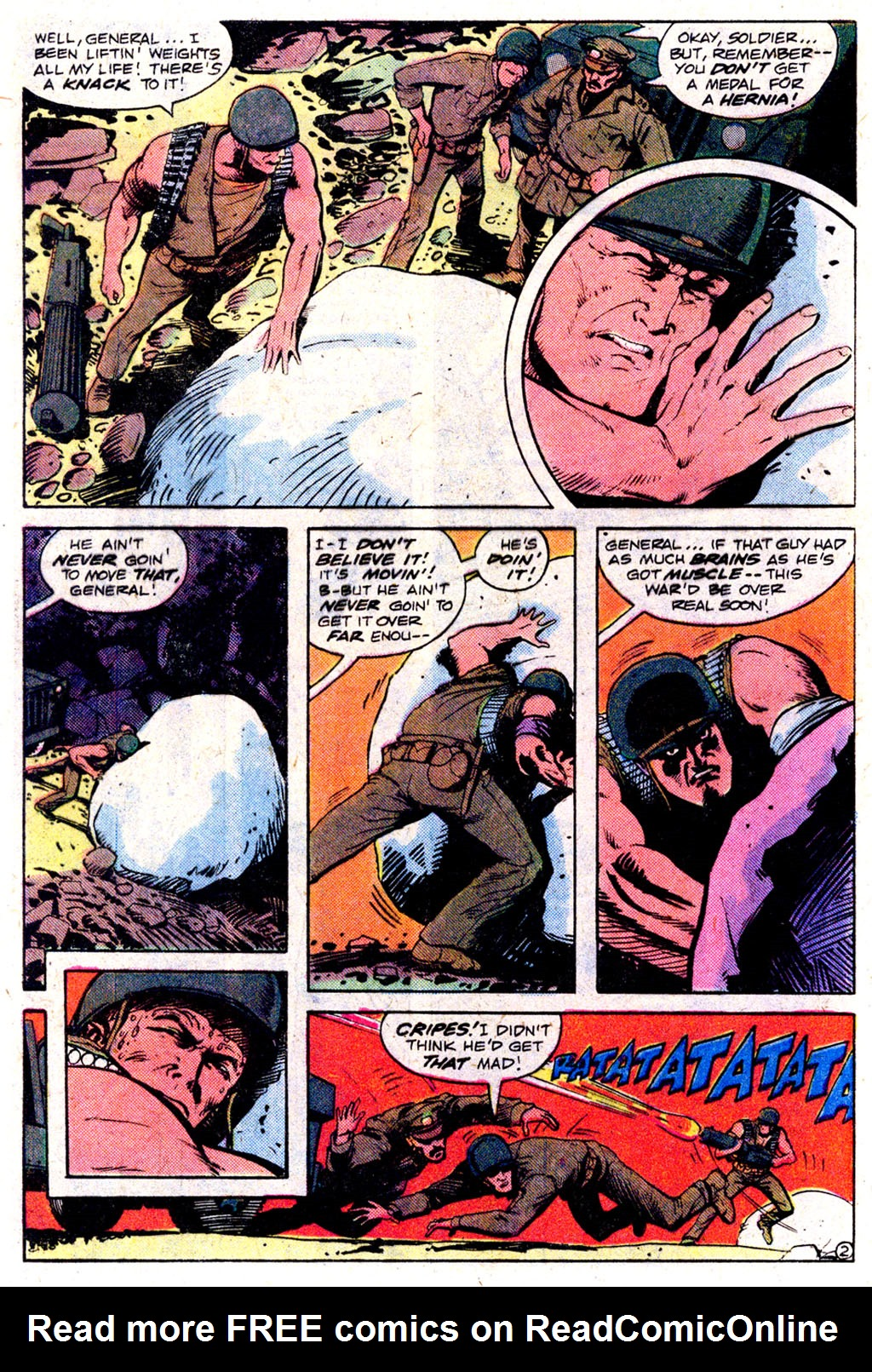 Read online Sgt. Rock comic -  Issue #349 - 25