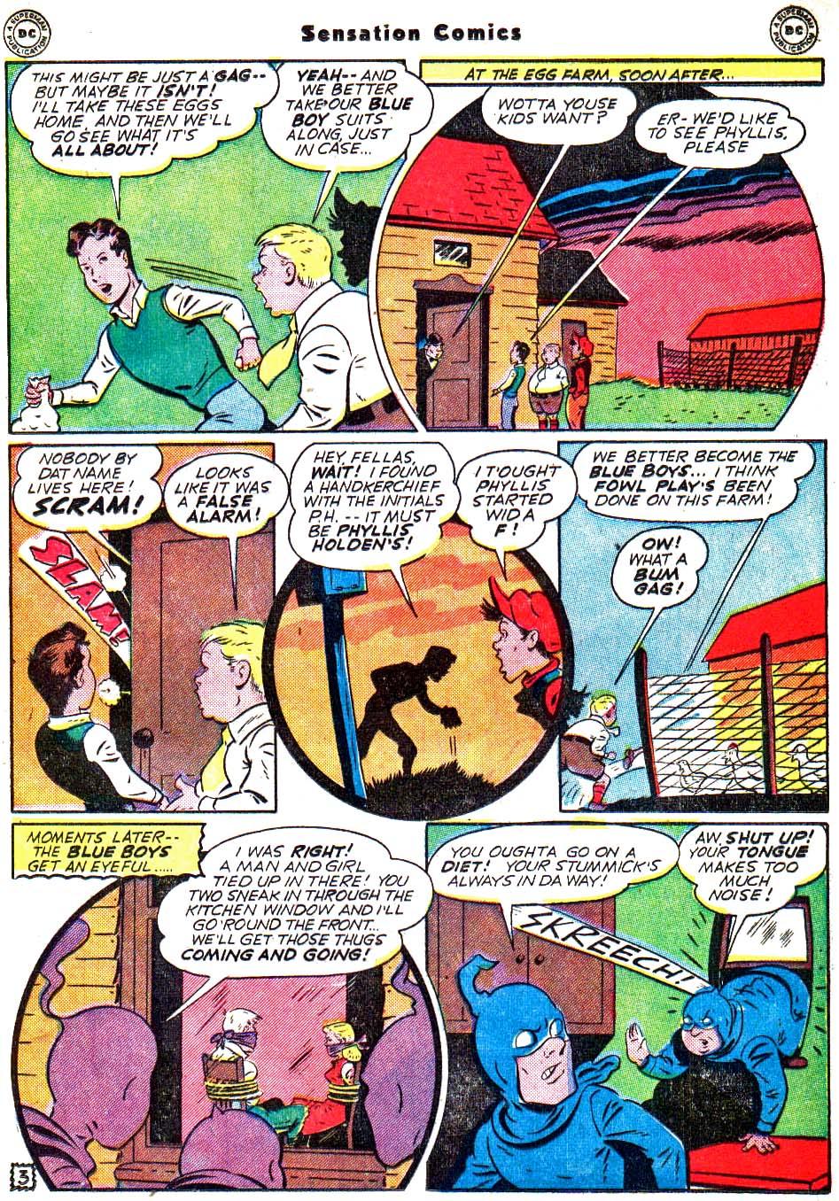 Read online Sensation (Mystery) Comics comic -  Issue #54 - 20