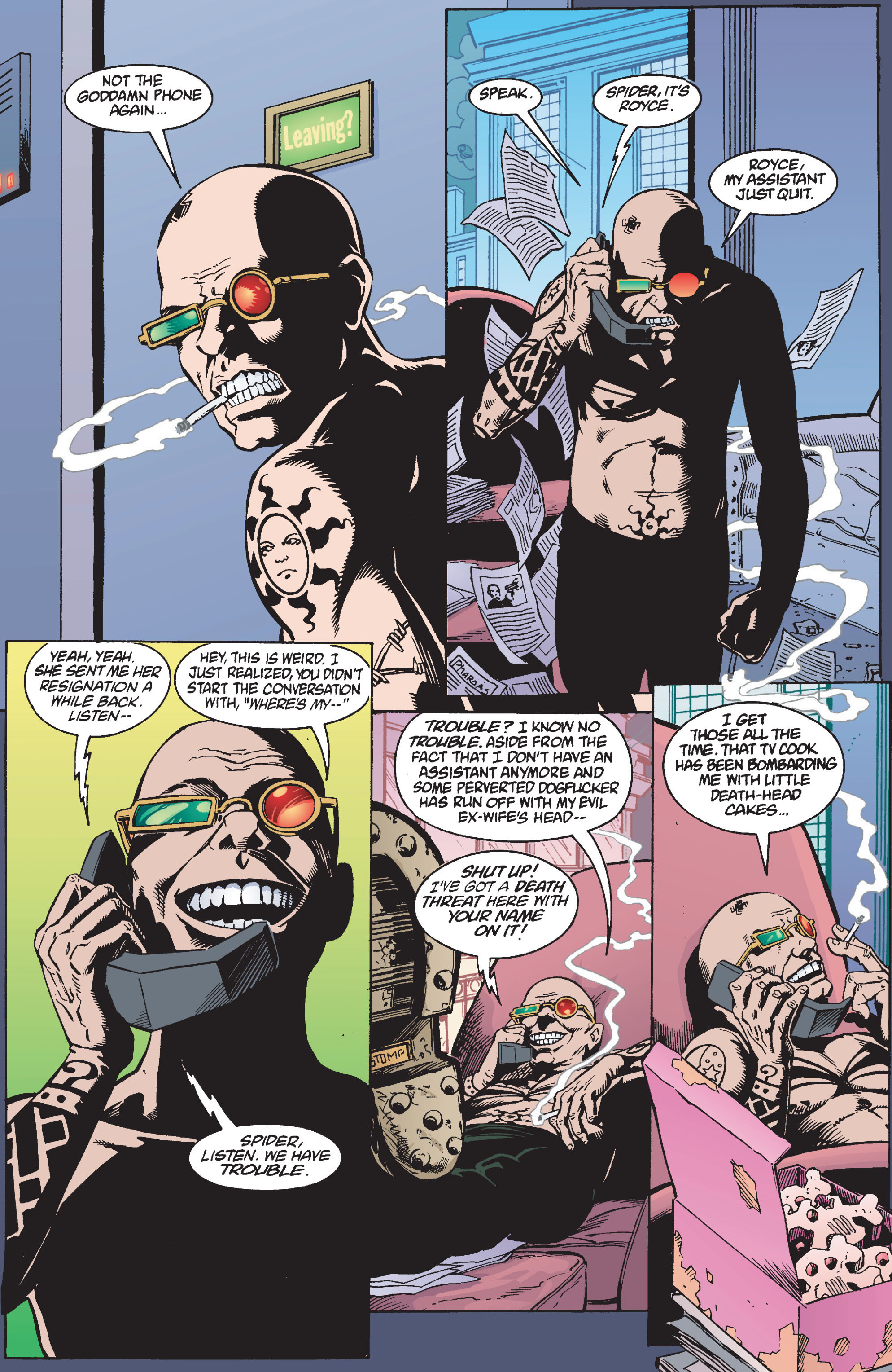 Read online Transmetropolitan comic -  Issue #10 - 6