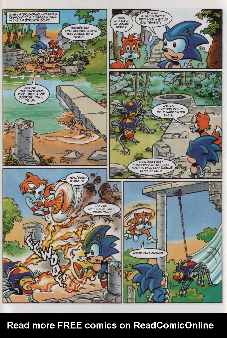 Read online Sonic the Comic comic -  Issue #83 - 4
