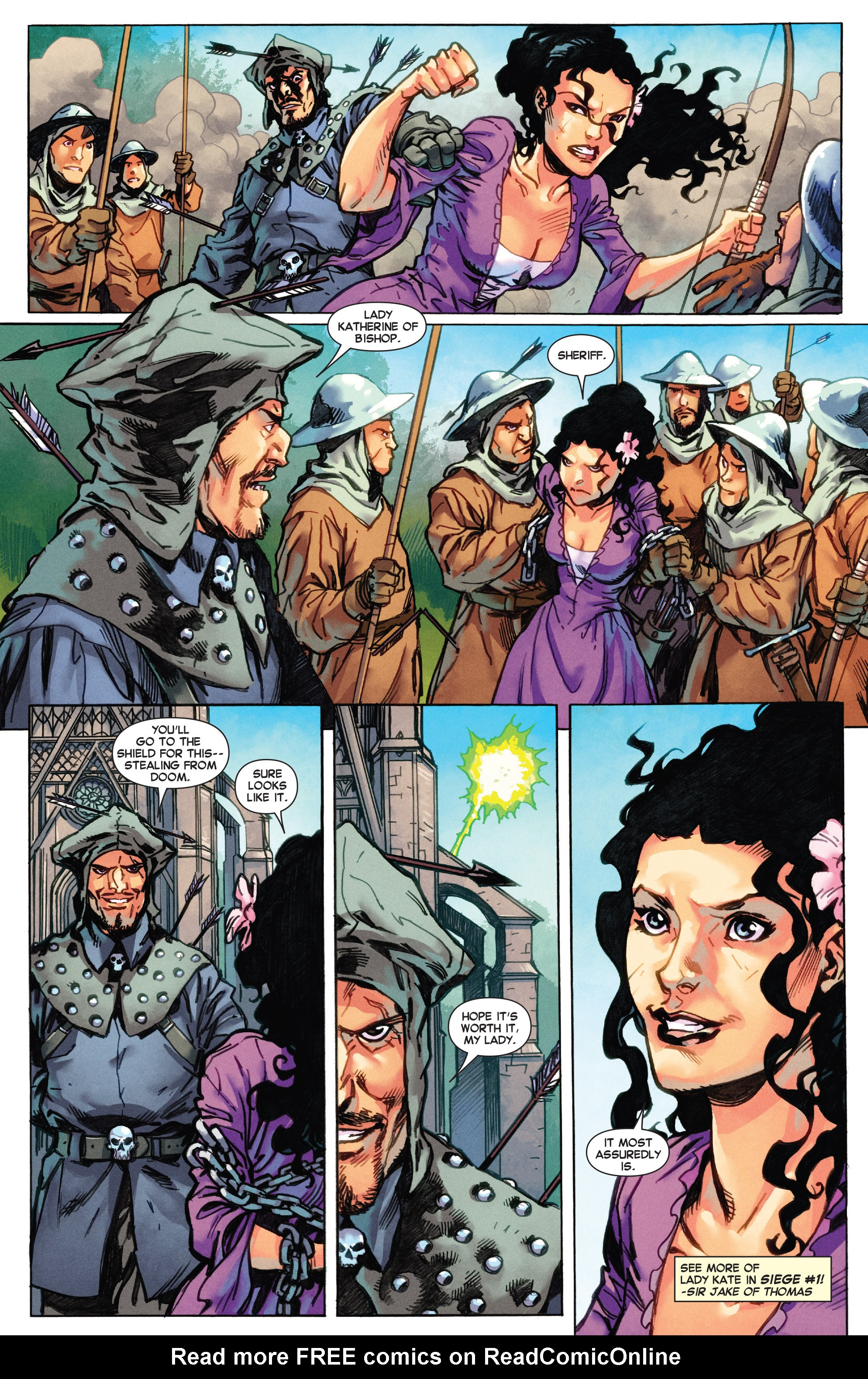 Read online Secret Wars Journal/Battleworld comic -  Issue # TPB - 15