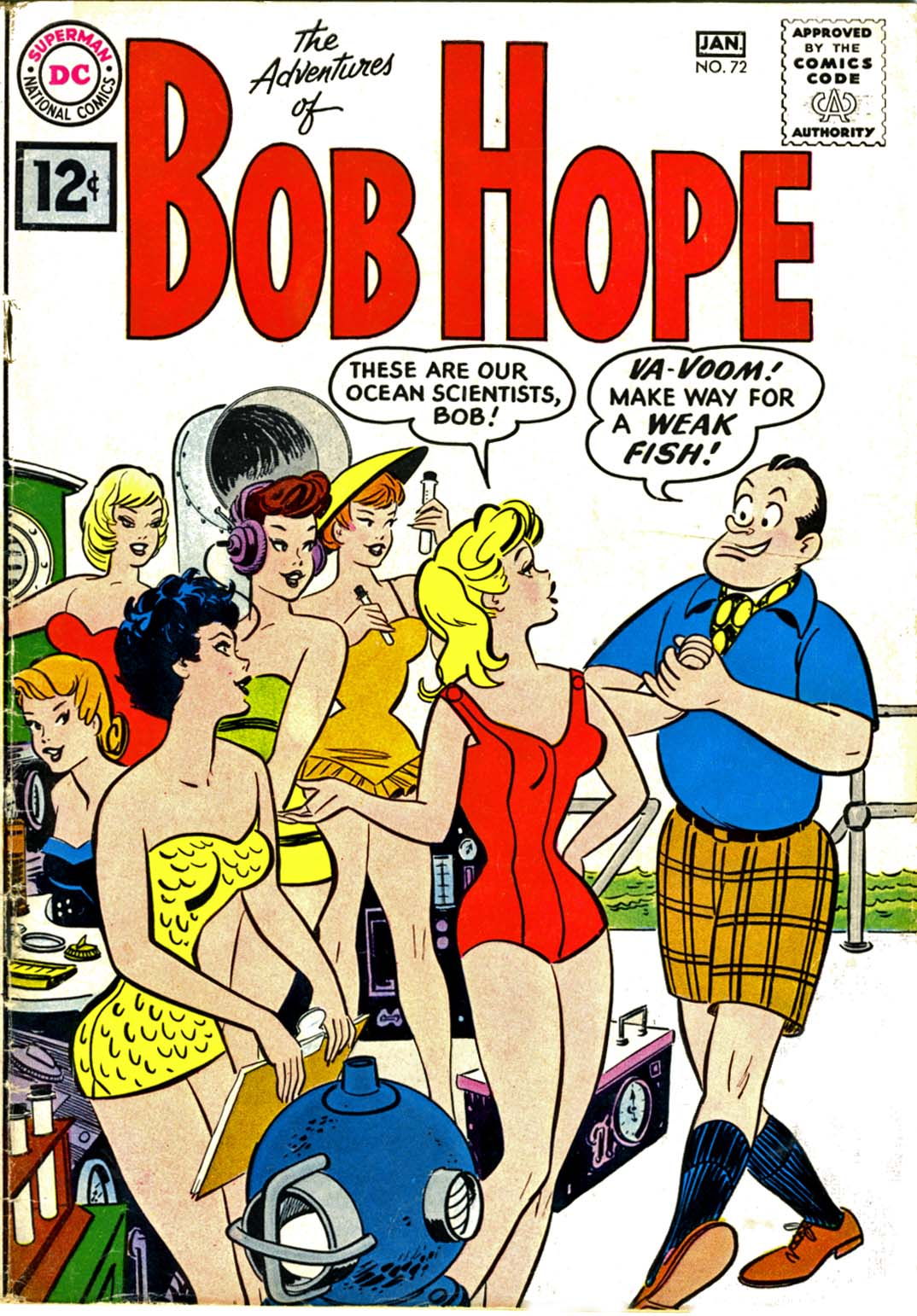 The Adventures of Bob Hope issue 72 - Page 1