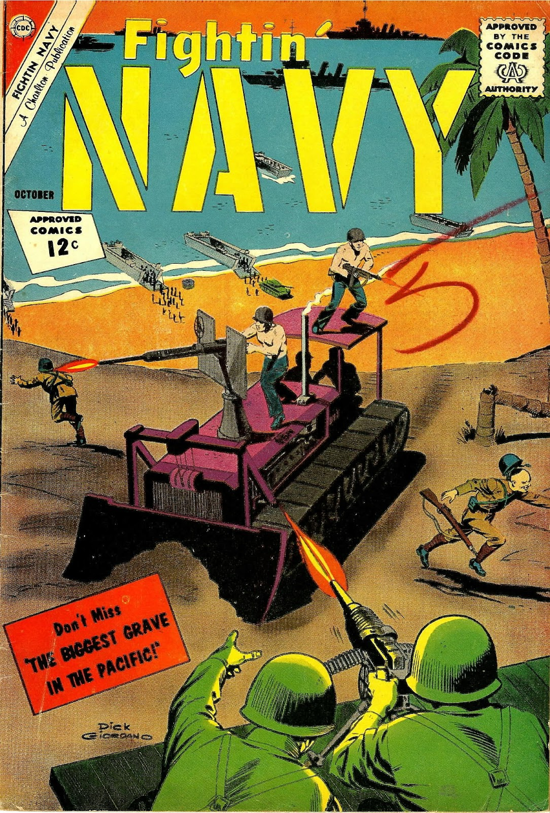 Read online Fightin' Navy comic -  Issue #106 - 1