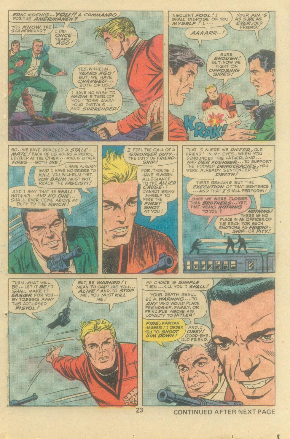 Read online Sgt. Fury comic -  Issue #138 - 25
