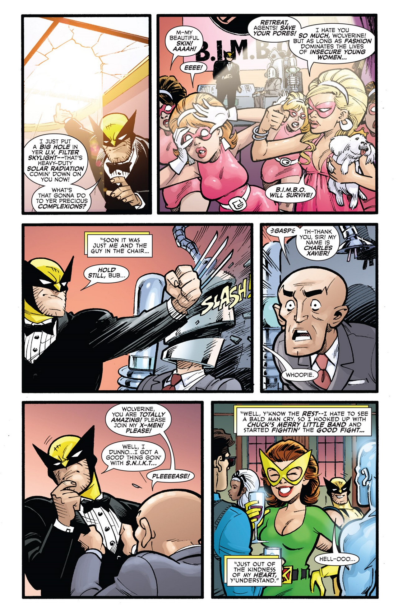 Read online Uncanny X-Men: First Class Giant-Size Special comic -  Issue # Full - 38