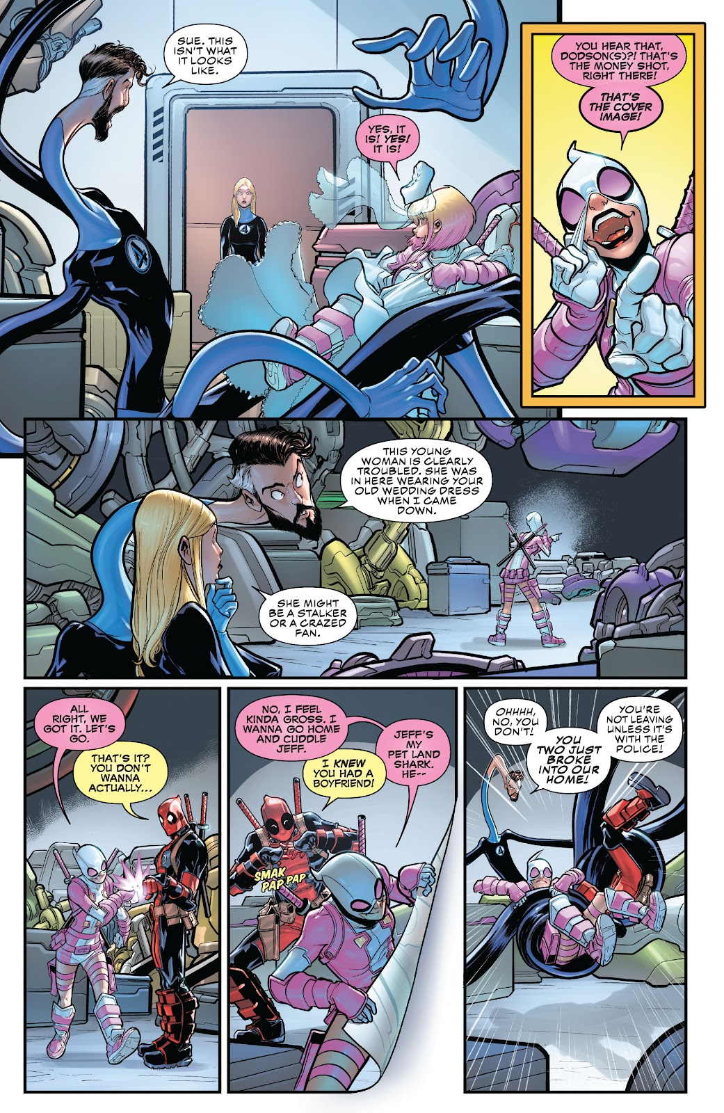 Gwenpool Strikes Back issue _TPB - Page 37