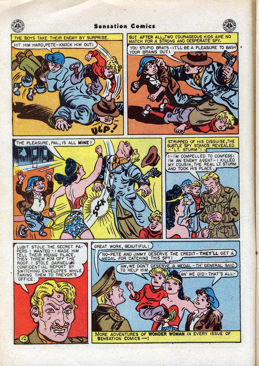Read online Sensation (Mystery) Comics comic -  Issue #44 - 14
