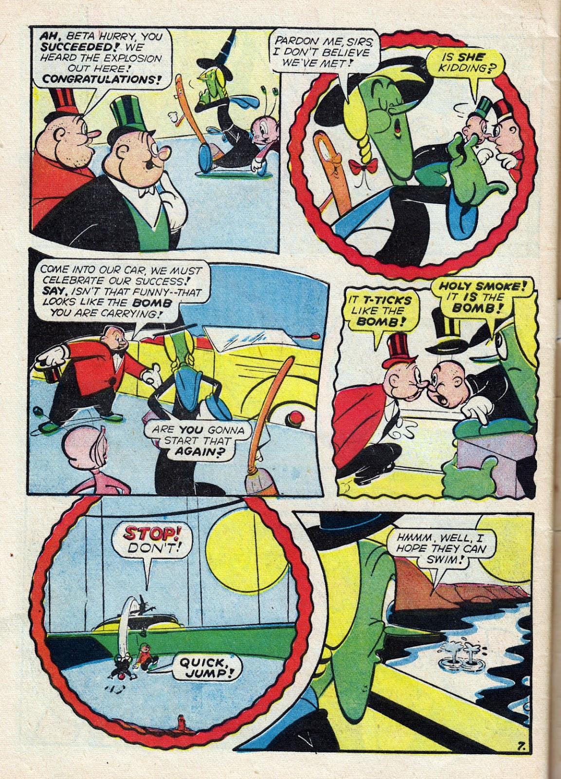 Read online Comedy Comics (1942) comic -  Issue #14 - 64