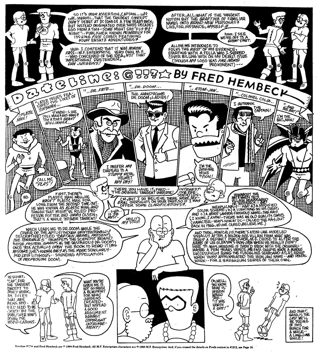 Read online The Nearly Complete Essential Hembeck Archives Omnibus comic -  Issue # TPB (Part 7) - 76