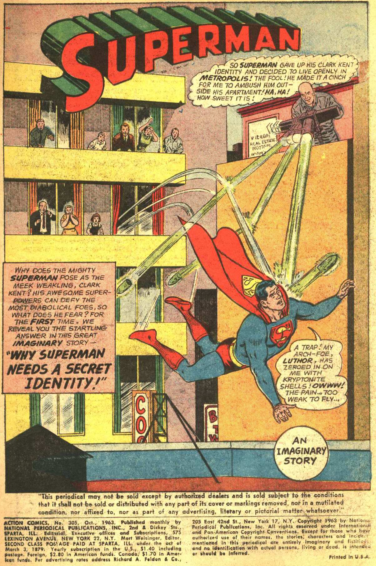 Read online Action Comics (1938) comic -  Issue #305 - 3