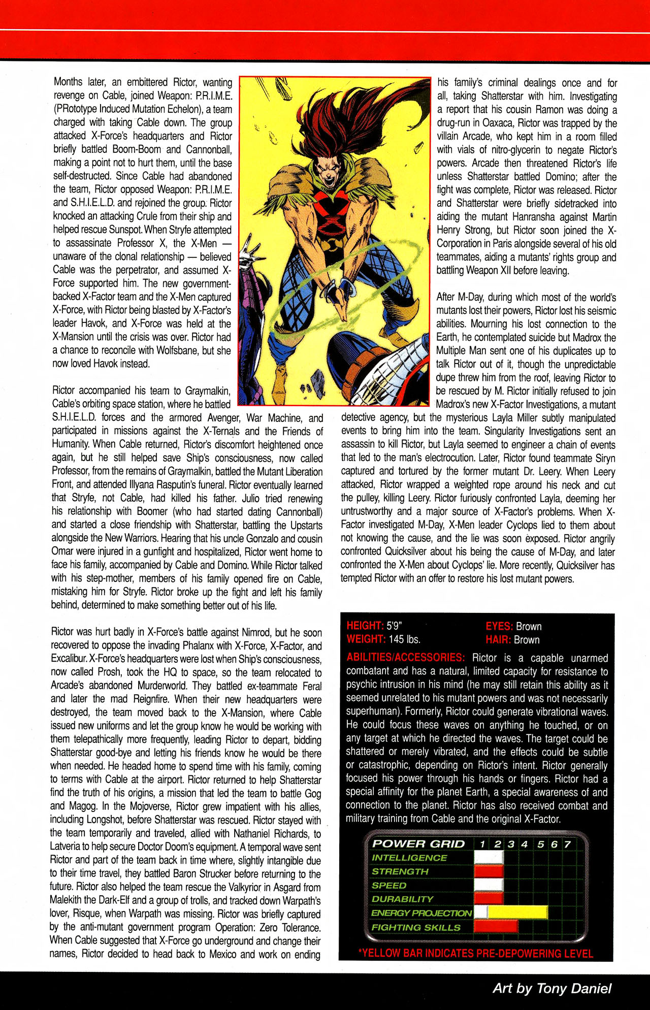 Read online All-New Official Handbook of the Marvel Universe A to Z comic -  Issue #9 - 28