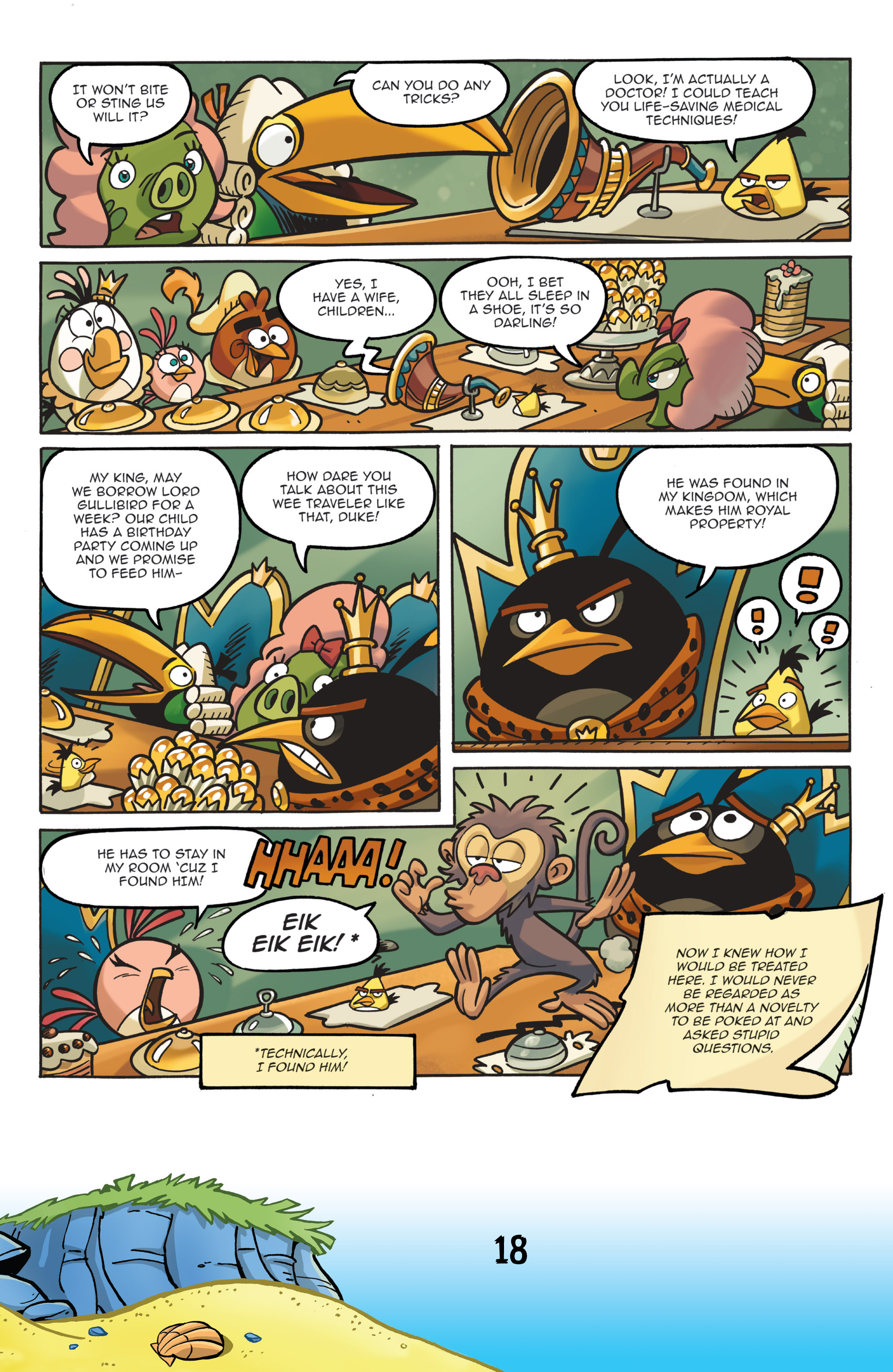Read online Angry Birds Comics (2016) comic -  Issue #7 - 20
