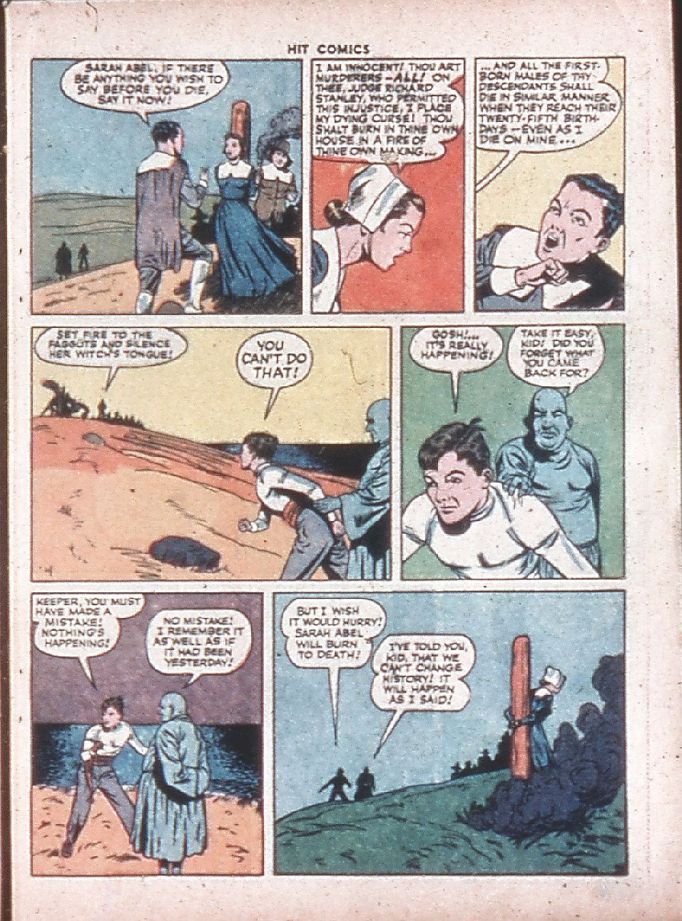 Read online Hit Comics comic -  Issue #36 - 13