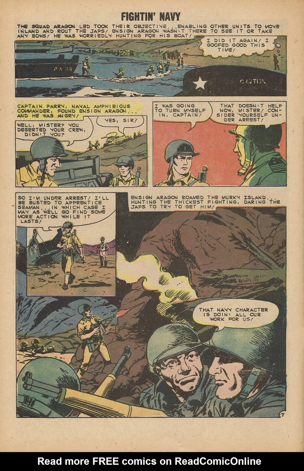 Read online Fightin' Navy comic -  Issue #92 - 10