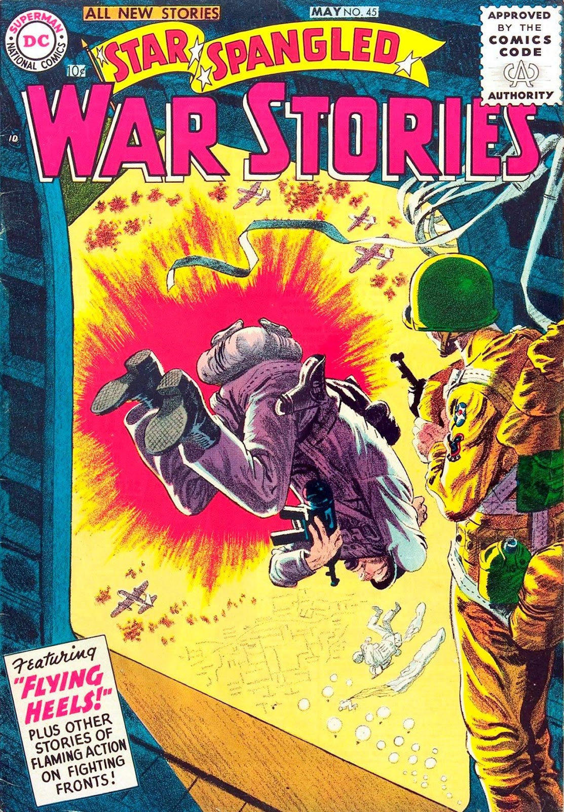 Star Spangled War Stories (1952) issue 45 - Page 1